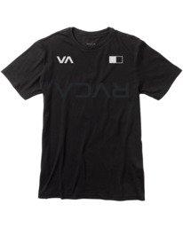 0 VA Sport Big RVCA Banner - T-shirt pour Homme Noir W4SSMCRVP1 RVCA
