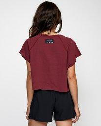 1 Everlast Raglan Muscle - T-shirt sans manches pour Femme Marron W4TPWFRVP1 RVCA