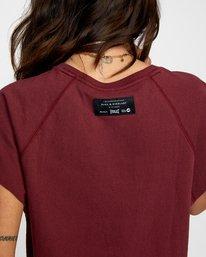 7 Everlast Raglan Muscle - T-shirt sans manches pour Femme Marron W4TPWFRVP1 RVCA