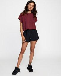 3 Everlast Raglan Muscle - T-shirt sans manches pour Femme Marron W4TPWFRVP1 RVCA