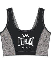 5 Everlast x RVCA - Brassière de sport pour Femme Noir W4UNWDRVP1 RVCA