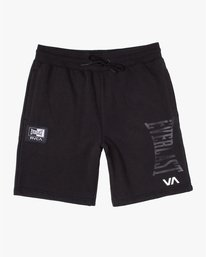 0 Everlast x RVCA - Sweat Shorts for Men Black W4WKMGRVP1 RVCA