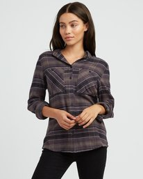 0 Roam Plaid Flannel  W510SRRO RVCA