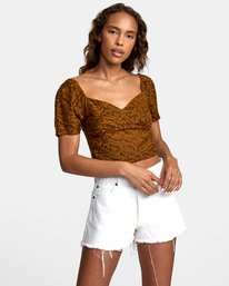 0 NO MATTERS TOP Brown W5412RNM RVCA