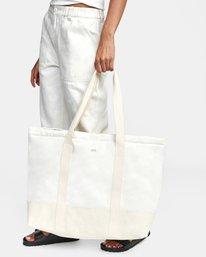 2 Neutral - Tote Bag Silver W5BGRARVP1 RVCA