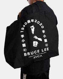 3 Bruce Lee Eighty Years - Bolsa Tote con Asas para Unisex Negro W5BGRERVP1 RVCA