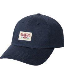 0 Draft - Strapback Cap for Men Blue W5CPRIRVP1 RVCA