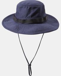 0 Recession Collection Dayshift - Chapeau safari pour Homme Bleu W5HTRBRVP1 RVCA