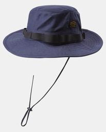 3 Recession Collection Dayshift - Chapeau safari pour Homme Bleu W5HTRBRVP1 RVCA