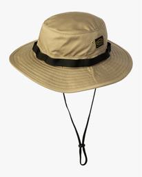 1 Recession Collection Dayshift - Chapeau safari pour Homme Vert W5HTRBRVP1 RVCA