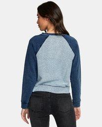 1 Swing It Fleece Sweatshirt  W603WRSW RVCA