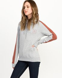 0 VA All The Way Colorblocked Hoodie  W612QRVA RVCA