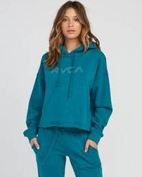 0 Pinner Cropped Hoodie Multicolor W621SRPI RVCA