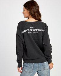 0 Spec Raglan Sweatshirt Black W631VRSP RVCA