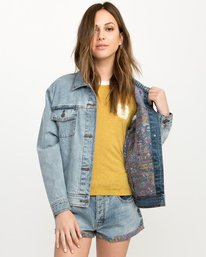 0 Grillo Denim Jacket  W707QRGR RVCA