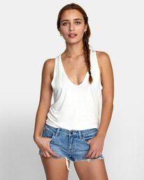 0 MINTED TANK TOP White W9021RMI RVCA