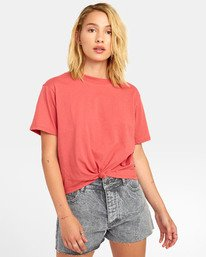 0 RADLEY T-SHIRT Red W9041RRA RVCA