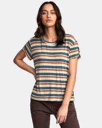 0 Recess 2 Knit T-Shirt Beige W907VRR2 RVCA