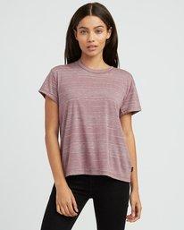 0 Suspension 2 Knit T-Shirt Pink W913SRSU RVCA