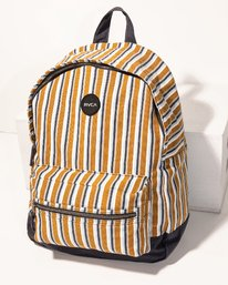 0 Tides Printed Backpack Brown WABKVRTI RVCA