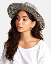 0 JANE PANAMA HAT Purple WAHW2RJA RVCA