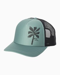 0 Oblow Palm Trucker Hat Multicolor WAHWQROP RVCA