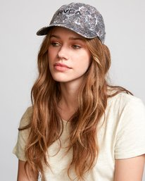 0 Staple Dad Hat Grey WAHWVRST RVCA