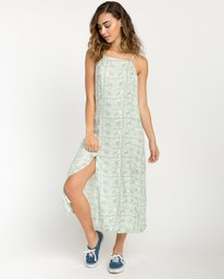 0 Garland Midi Dress Green WD01PRGA RVCA