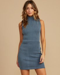 0 Dispatch Mock Neck Dress  WD02QRDI RVCA