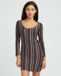 0 Tare Fitted Dress Multicolor WD03SRTA RVCA