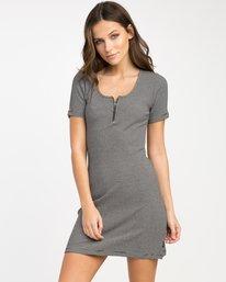 0 Zip It Ribbed Dress  WD05NRZP RVCA