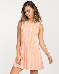 0 Peony Striped Dress Pink WD05PRPE RVCA