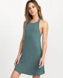 0 Linked Tank Dress Green WD05QRLI RVCA