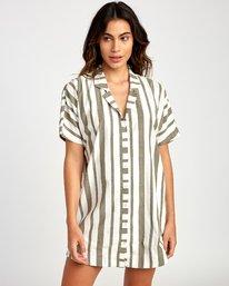 0 Storm Oversized Shirt Dress  WD05VRST RVCA