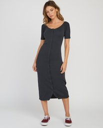ec06ca8b DIA WD06SRDI · Dia Button Midi Dress