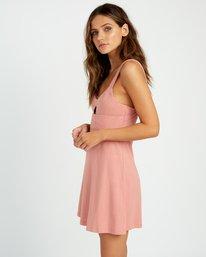0 All Talk Knit Dress Brown WD07URAL RVCA