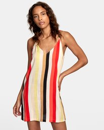 0 Fluke Printed Dress Grey WD09URFL RVCA