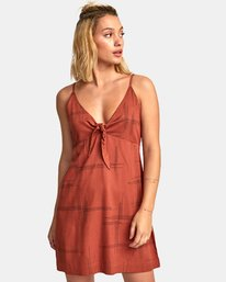 0 Capital Knot Tank Dress  WD09WRCA RVCA
