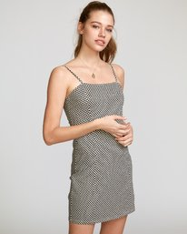 0 Mosaic Knit Tank Dress Beige WD10VRMO RVCA