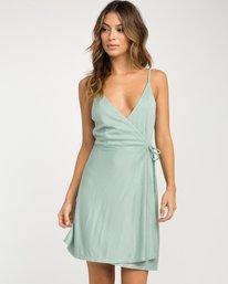 0 Kelso Wrap Dress  WD16NRKE RVCA