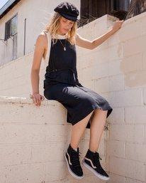 0 Fortune Midi Overall Dress Black WD16URFO RVCA