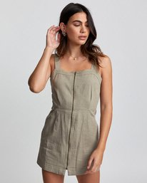 0 EMERY DRESS Brown WD193RES RVCA