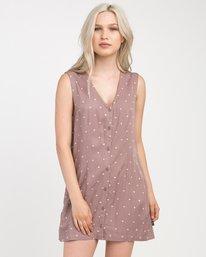 0 Fairness Printed Dress  WD19NRFA RVCA