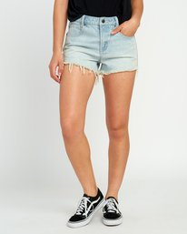 0 The BF Denim Shorts Black WG201THE RVCA