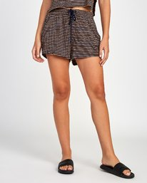 0 Rebound Knit Soft Short Brown WL02VRRE RVCA