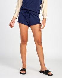 0 Kennedy Fleece Soft Short Blue WL05VRKE RVCA