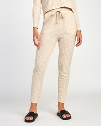 0 Twilight Knit Lounge Pant Beige WL10VRTW RVCA