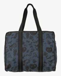 0 Dream On Printed Tote Bag Blue WLABADRO RVCA
