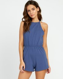 0 Monsoon Knit Romper Purple WN01URMO RVCA