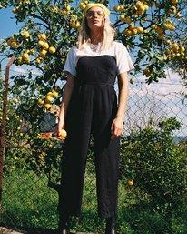 0 Social Strapless Jumpsuit Black WN04VRSO RVCA